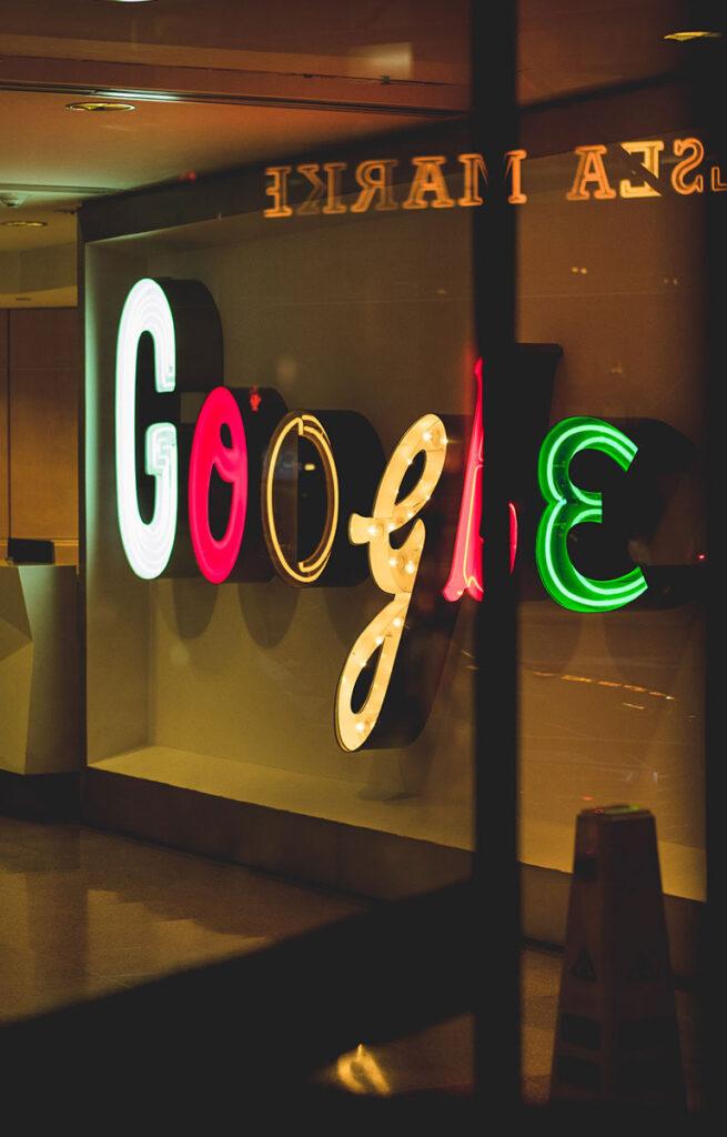 sua loja aparecer na pesquisa do Google